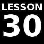 Lesson 30 – Review Test